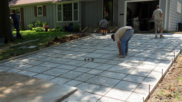 Nine Steps To A Replacement Concrete Driveway Jim Sloan